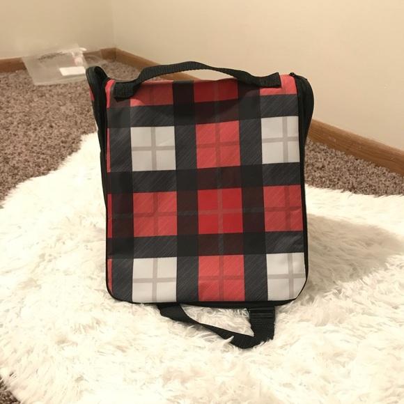 thirty one gifts bags plaid hanging traveler case poshmark